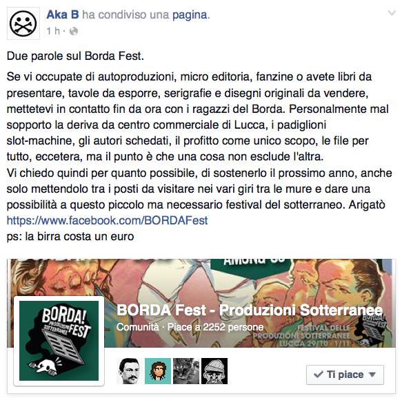 Akab per BORDA!Fest