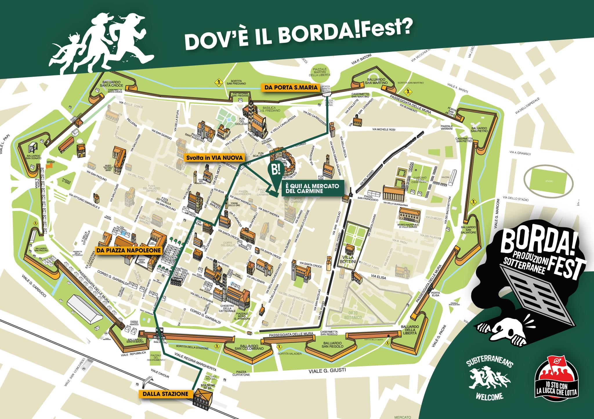 BORDA!Fest 2015 MAPPA